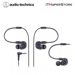 Audio Technica ATH-IM50 Dual Symphonic Inner Ear Monitor Headphones - Black