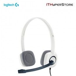 Logitech Stereo Headset With Mic - H150 - Cloud White