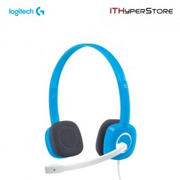 Logitech Stereo Headset With Mic - H150 - Sky Blue