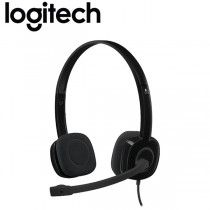 Logitech Stereo Headset With Mic - H151 - Black
