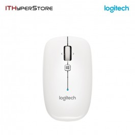 Logitech USB Bluetooth Mouse - Pearl White - M557