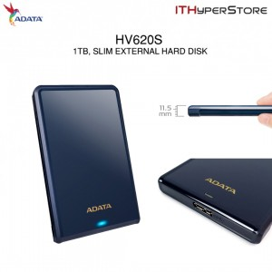 ADATA EXT HDD HV620S 1TB BLUE (SLIM)