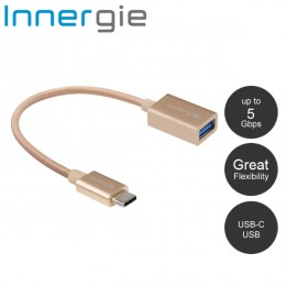 Innergie MagiCable USB-C to USB Charge and Sync - Gold