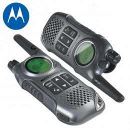 Motorola TLKR-T8 10KM Walkie-Talkie Twin Pack