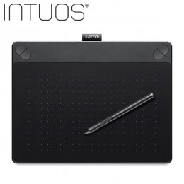 Wacom Intuos Art Creative Pen and Touch Tablet Black -CTH690/KO-CX (Medium Size)