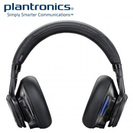 Plantronics Backbeat PRO Smart Wireless, Noise Canceling Headset + Mic - Black