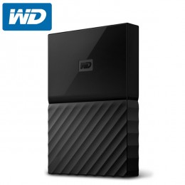 WD My Passport 1TB External Hard Drive / HDD - Black - (WDBYNN0010BBK-WESN)