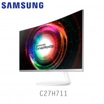 "SAMSUNG 26.9"" 2K quantum dot curved monitor with a Stylish Design - C27H711"