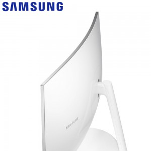 SAMSUNG 26.9 INCH 2K quantum dot curved monitor with a Stylish Design - C27H711