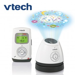 VTech BM2200 Digital Audio Baby Monitor with Glow-on-Ceiling Night Light and One Parent Unit