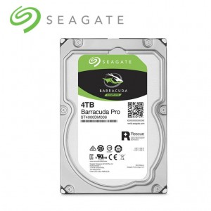 Seagate BarraCuda Pro 3.5 4TB SATA III 6Gb/s 7200RPM 128MB Cache Internal Hard Drive ST4000DM006