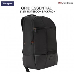 Targus 16 Inch Grid Essential 27L Notebook / Laptop Backpack TSB848