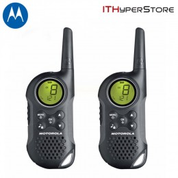 Motorola TLKR-T6 Walkie Talkies Twin Pack - 8KM Range
