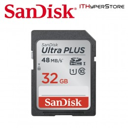 SanDisk 32GB Ultra SDHC SD Memory Card 48 MB/s Speed - SDSDUNB-032G-GN3IN