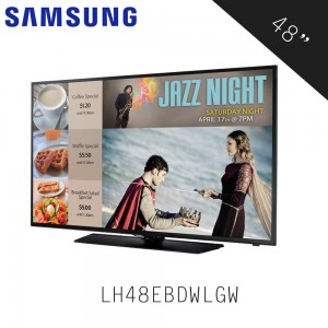 Samsung EB40D 48´LED TV (LH48EBDWLGW/XM)