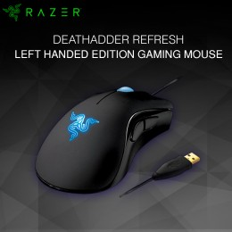 Razer Deathadder Refresh Left Handed Edition Gaming Mouse (RZ01-00151700-W1M1)