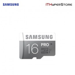 Samsung Micro SDHC UHS-I Card w/ Adapter 16GB PRO - MB-MG16DA/ APC