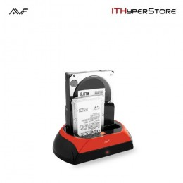 AVF AHDS-U33 Hard Disk Docking Dual Sata USB3.0/2.0 for 2.5??/3.5?? HDD