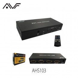 AVF 3x1 HDMI Switch (Full HD) Ver 1.3 - AHS103