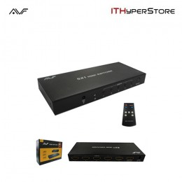 AVF 5x1 HDMI Switch (Full HD 1080P) Ver 1.3 Switch (Black) - AHS105