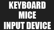 mouse, keyboard & input devices