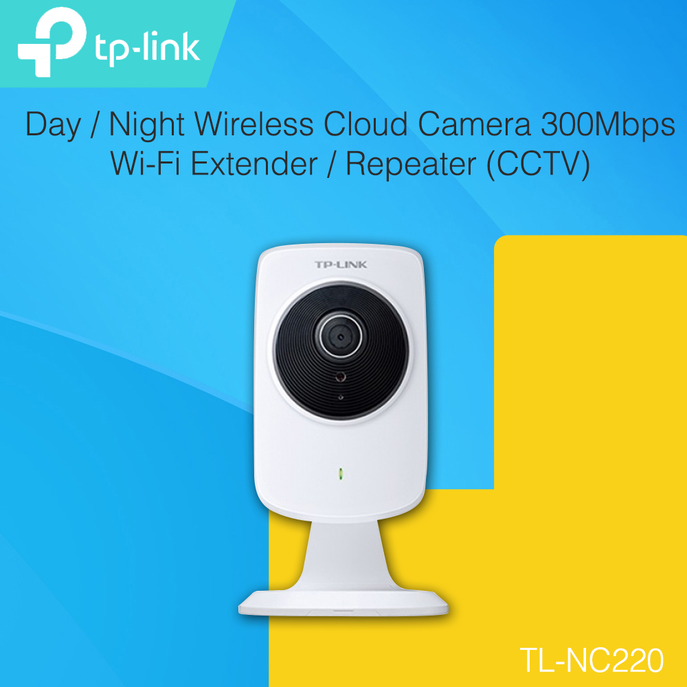 Tp Link Nc220 Day Night Wireless Cloud Camera 300mbps Wi